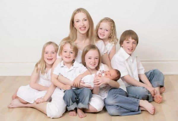 Трудовая пенсия для многодетной матери