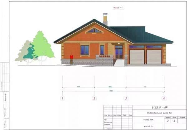Проетк на постройку дома