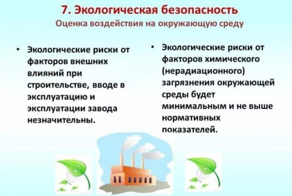 Экологическая безопасность производства
