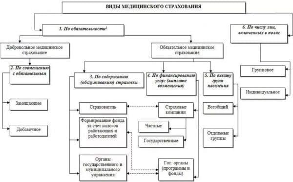 Структура медицинского страхования